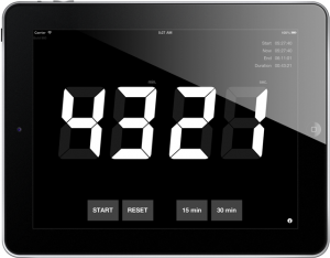 Count Down Timer for Presentations (iPad)